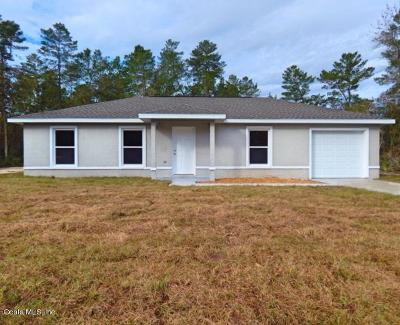 Ocala Single Family Home For Sale: 13804 SW 43rd Circle