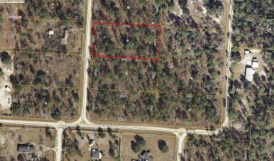 Levy County Residential Lots & Land For Sale: SE 133rd Terrace