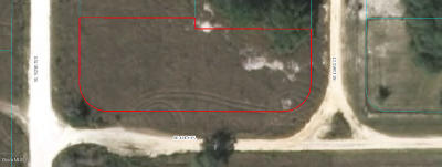 Belleview Residential Lots & Land For Sale: Lot 14&15 Lake Weir Heights