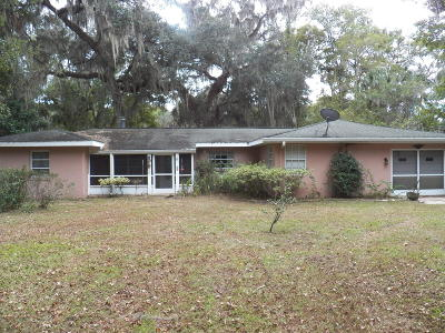 Levy County Rental For Rent: 221 Cove Road