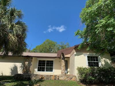Dunnellon Single Family Home For Sale: 8620 SW 209th Court