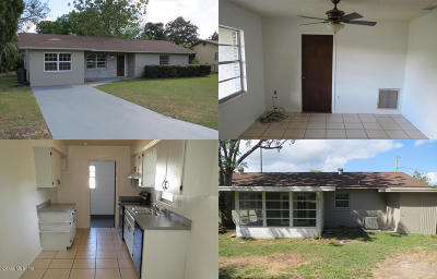 Belleview Single Family Home For Sale: 5146 SE 108 Street
