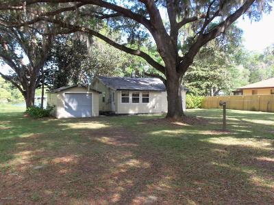Dunnellon Single Family Home For Sale: 7111 W Riverbend Road