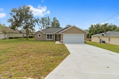 Ocala Single Family Home For Sale: 64 Fir Drive