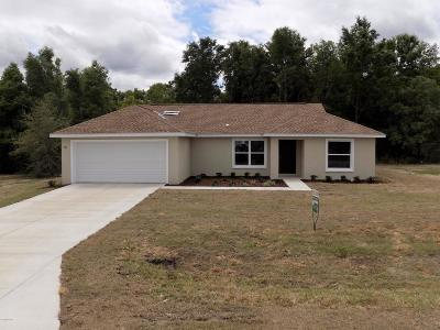 Ocala Single Family Home For Sale: 142 Willow Road