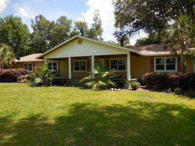 Morriston Farm For Sale: 16280 NW 112th Place