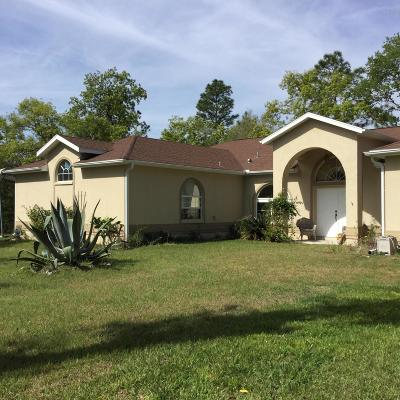 Dunnellon Single Family Home For Sale: 2074 SW 186th Court Court