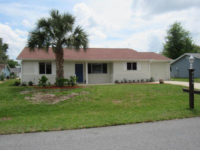 Ocala Single Family Home For Sale: 8390 SW 108 Place