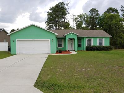 Ocala Single Family Home For Sale: 5009 SW 129th Place