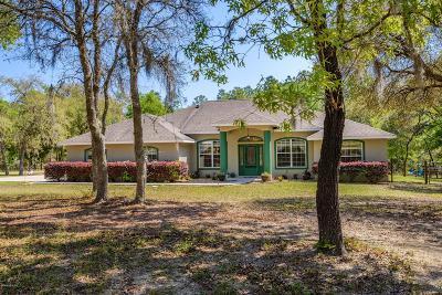 Ocala Single Family Home For Sale: 12160 SW 60th Street