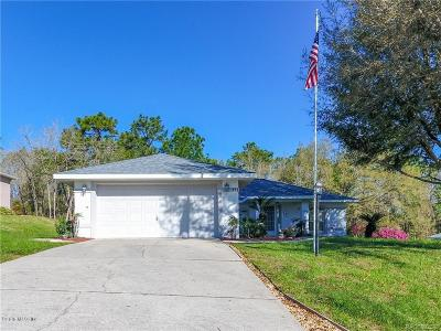 Citrus County Single Family Home For Sale: 886 N Lafayette Way
