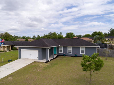 Belleview Single Family Home For Sale: 12195 SE 101st Court