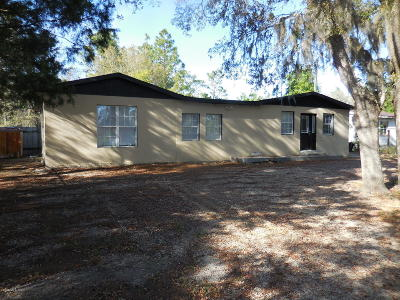 Levy County Single Family Home For Sale: 13325 NE 50th Place