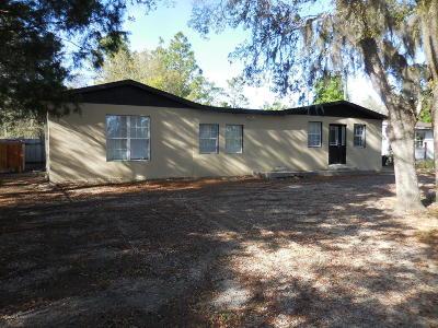 Williston FL Single Family Home For Sale: $79,000