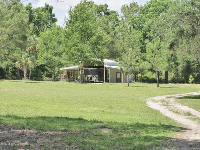 Ocala Farm For Sale: 1661 SE 110th Street