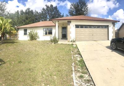Marion Oaks North, Marion Oaks Rnc, Marion Oaks South Single Family Home For Sale: 15055 SW 35th Circle