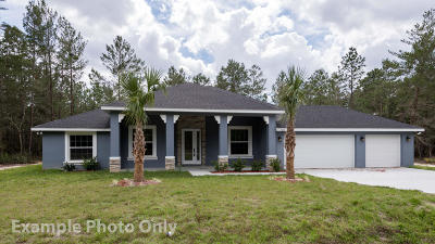 Ocala Single Family Home For Sale: 4878 SW 112 Street