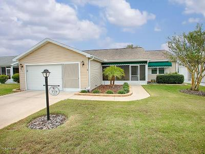 The Villages Single Family Home For Sale: 727 Vista Place
