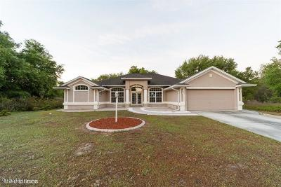 Ocala Single Family Home For Sale: 268 Marion Oaks Trail
