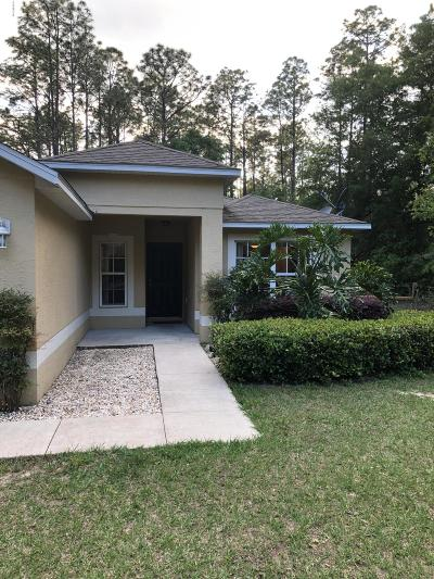 Dunnellon Single Family Home For Sale: 5290 SW 197 Terrace