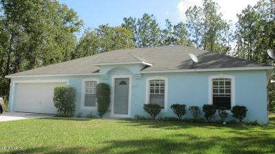 Ocala Single Family Home For Sale: 13155 SW 73rd Avenue