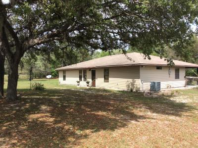 Levy County Single Family Home For Sale: 6591 SE 194 Avenue