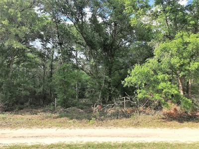 Levy County Residential Lots & Land For Sale: T/B/D NE 83rd Lane