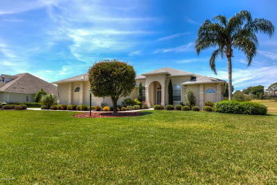 Lady Lake Single Family Home For Sale: 39527 Harbor Hills Boulevard