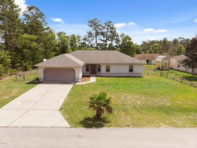 Marion Oaks North, Marion Oaks Rnc, Marion Oaks South Single Family Home For Sale: 12799 SW 51st Avenue