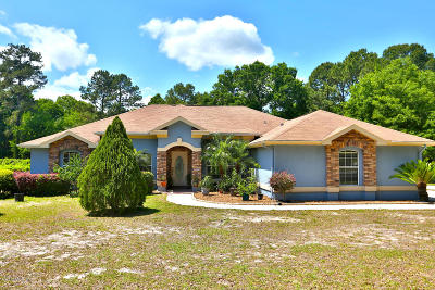 Ocala Single Family Home For Sale: 356 SE 125th Place