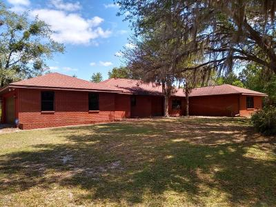 Ocala Single Family Home For Sale: 5011 SW 31st Street