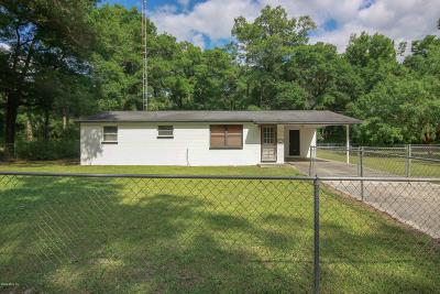 Dunnellon Single Family Home Pending: 15065 SW 115 Avenue