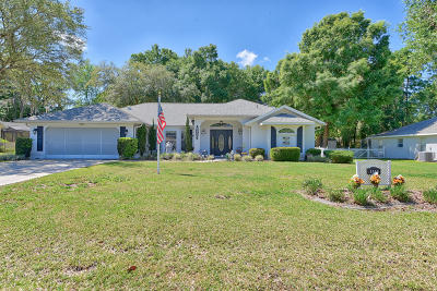 Ocala Single Family Home For Sale: 5900 SW 107th St Street