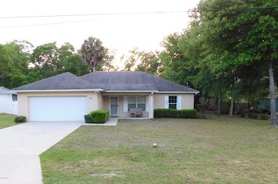 Silver Springs FL Single Family Home For Sale: $138,000