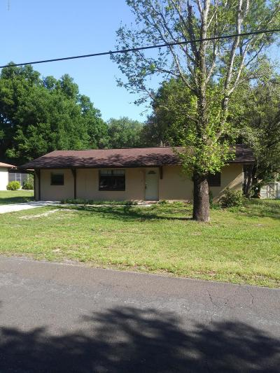 Citrus County Single Family Home For Sale: 3171 E Bryant Street
