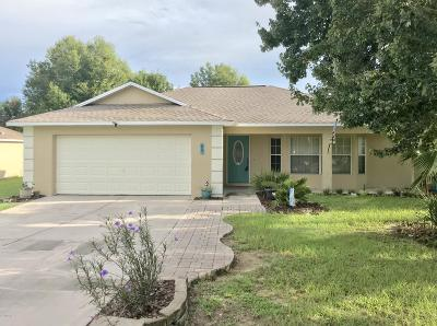 Ocala Single Family Home For Sale: 69 Pecan Course Loop