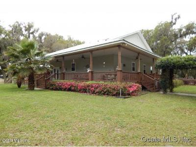 Dunnellon Single Family Home For Sale: 19785 NW 13th St Street