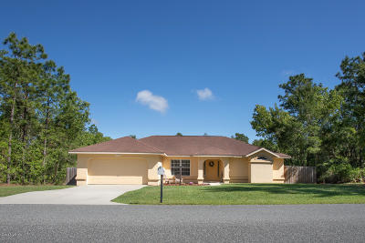 Ocala Single Family Home For Sale: 15772 SW 55th Avenue Road