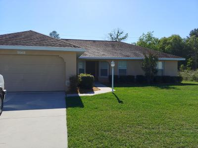 Marion Oaks North, Marion Oaks Rnc, Marion Oaks South Single Family Home For Sale: 13735 SW 47 Circle