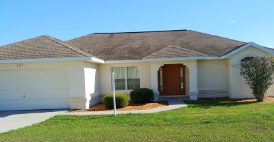 Ocala Single Family Home For Sale: 8505 SW 136 Loop
