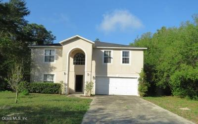 Marion Oaks North, Marion Oaks Rnc, Marion Oaks South Single Family Home For Sale: 5140 SW 158th Street