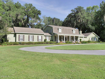 Ocala Single Family Home For Sale: 9585 SW 19 Avenue Road