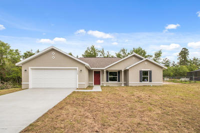 Marion Oaks North, Marion Oaks Rnc, Marion Oaks South Single Family Home For Sale: 3369 SW 137th Loop