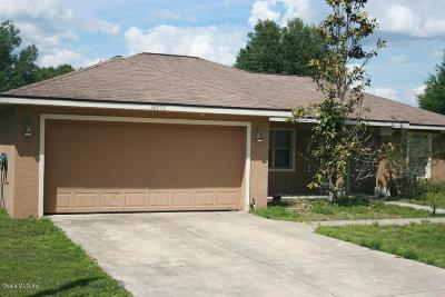 Ocala Single Family Home For Sale: 14679 SW 20th Place