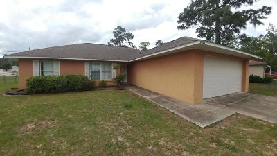 Ocala Single Family Home For Sale: 6260 Hemlock Road