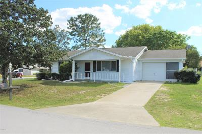 Ocala Single Family Home For Sale: 11460 SW 84th Court Road