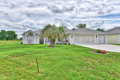 Ocala Palms Single Family Home For Sale: 2665 NW 51st Court