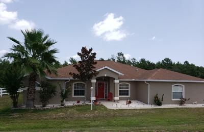 Ocala Single Family Home For Sale: 4115 SW 98th Street