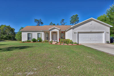 Ocala Single Family Home For Sale: 16650 SW 23rd Ave Rd Road