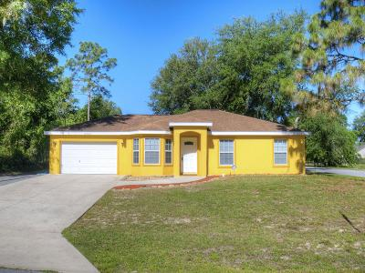 Summerfield Single Family Home For Sale: 15782 SE 98th Terrace